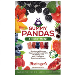 NEW! Assorted Vegan Gummy Pandas