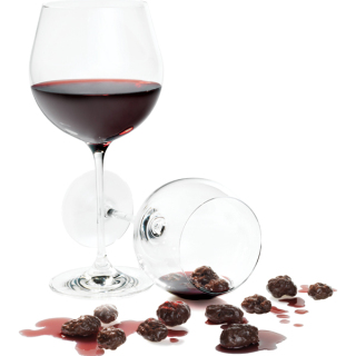 Chocolate-Covered Wine Grapes