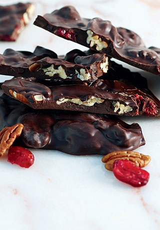 Cranberry Pecan Bark