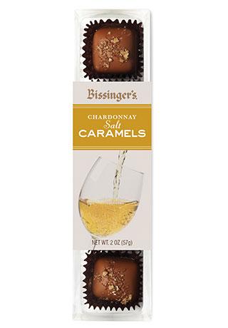 Chardonnay Salt Caramels