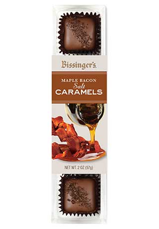Maple Bacon Salt Caramels
