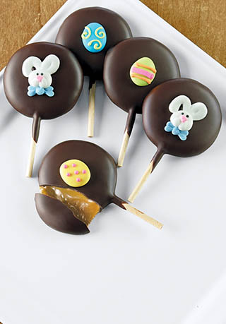 Easter Molasses Caramel Lollies