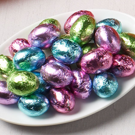 Solid Chocolate Eggs