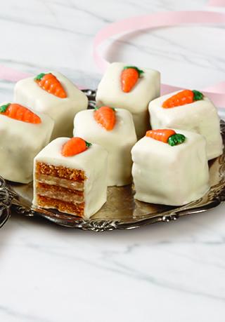 Carrot Cake Petits Fours - Carrot Cake