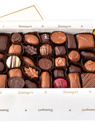 Karl Bissinger Collection - 36 pcs., Dark Chocolate