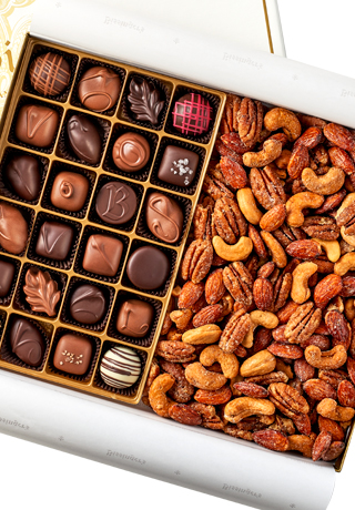 Connoisseur Collection - Nuts & Chocolate