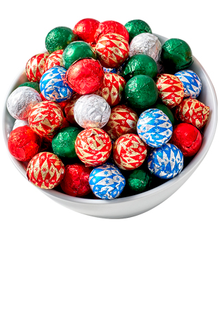 Milk Foil Ornaments 1 LB