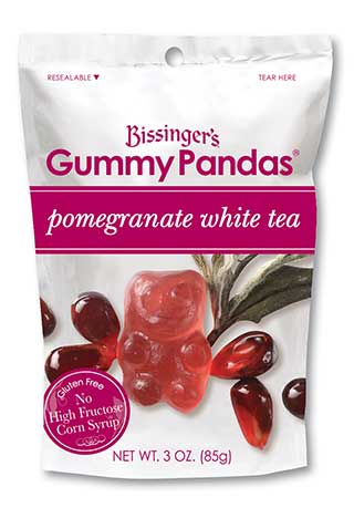 Pomegranate White Tea Gummy Pandas