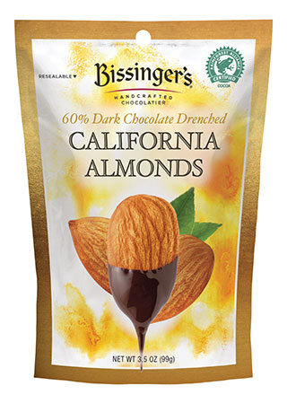 Dark Chocolate Whole California Almonds