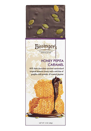 Honey Pepita Caramel Bar 3 OZ