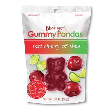 Tart Cherry & Lime Gummy Pandas