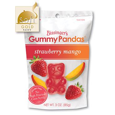 Strawberry Mango Gummy Pandas