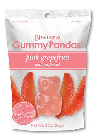 Pink Grapefruit Grapeseed Gummy Pandas