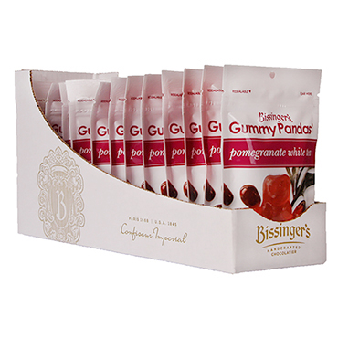 Pomegranate White Tea Gummy Pandas 12 pack