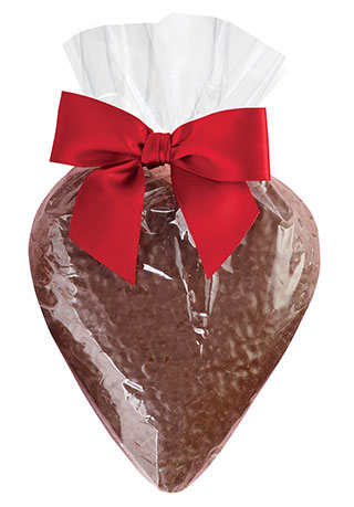 Solid Chocolate Heart
