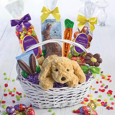 Happy easter gift basket shop all bissigners happy easter gift basket negle Images