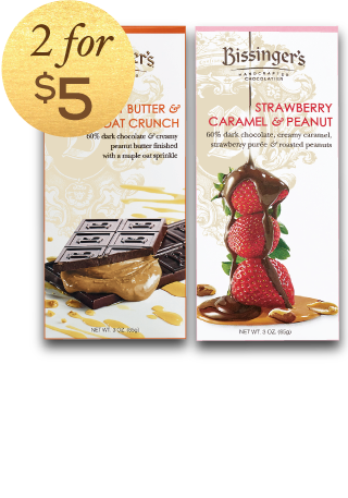 2 For $5 Chocolate Bars