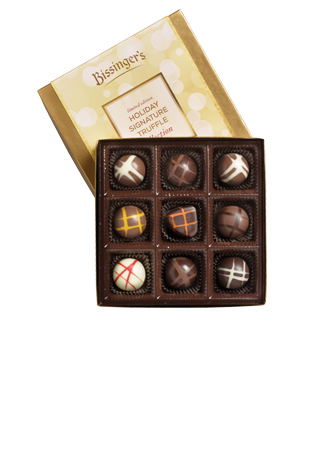 9 piece Holiday Signature Truffle Collection