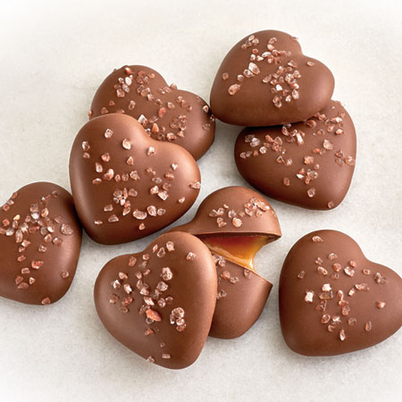 NEW! Salted Caramel Hearts - 8 PC