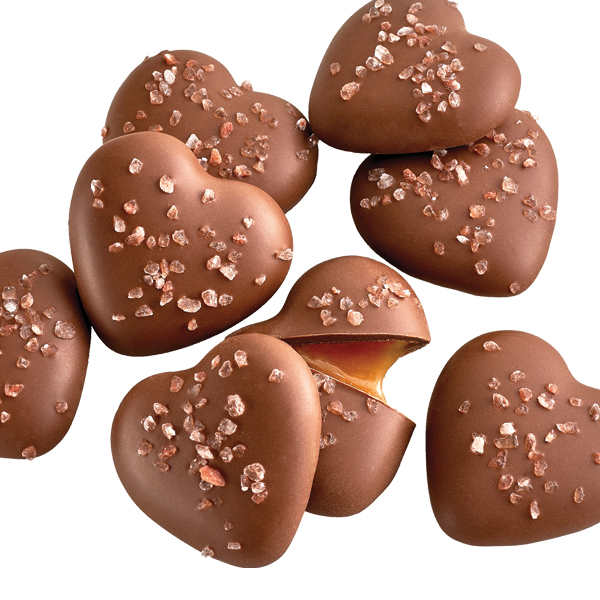 Salted Caramel Hearts - 8 PC