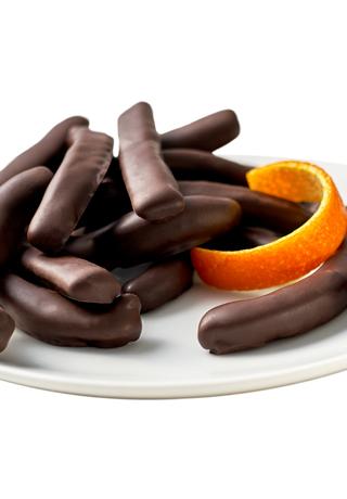 Dark Candied Orange Peel