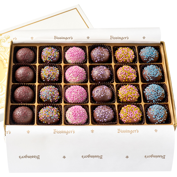 Exotic Fruit Truffle Collection - 24 Piece