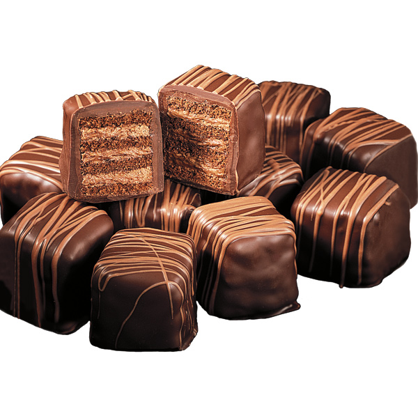 Quadruple Chocolate Petits Fours - 12 PC