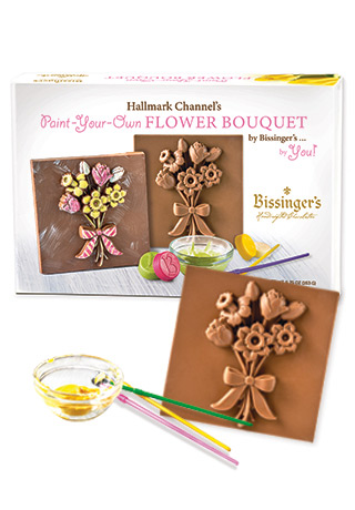 Paint Your Own Flower Bouquet