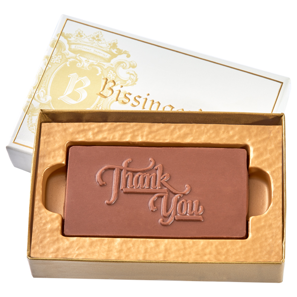 CUSTOM Chocolate Business Card