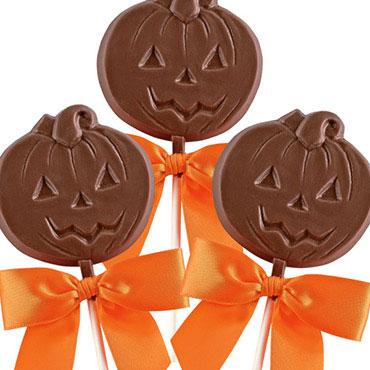 Pumpkin Lollies