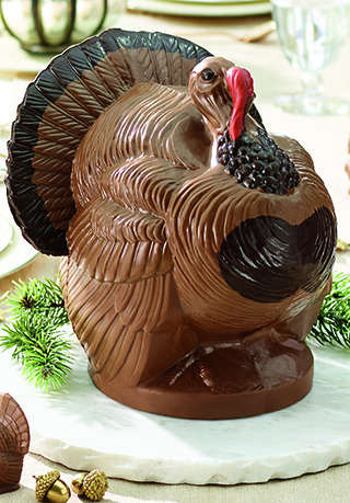 Centerpiece Chocolate Turkey