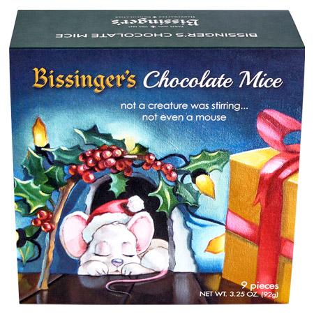 Chocolate Mice Ornaments
