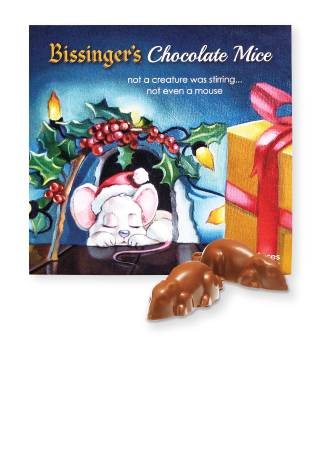 Chocolate Mice Ornaments