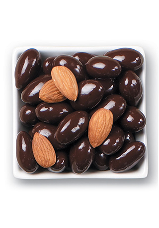 Dark Chocolate Whole California Almonds 1 LB