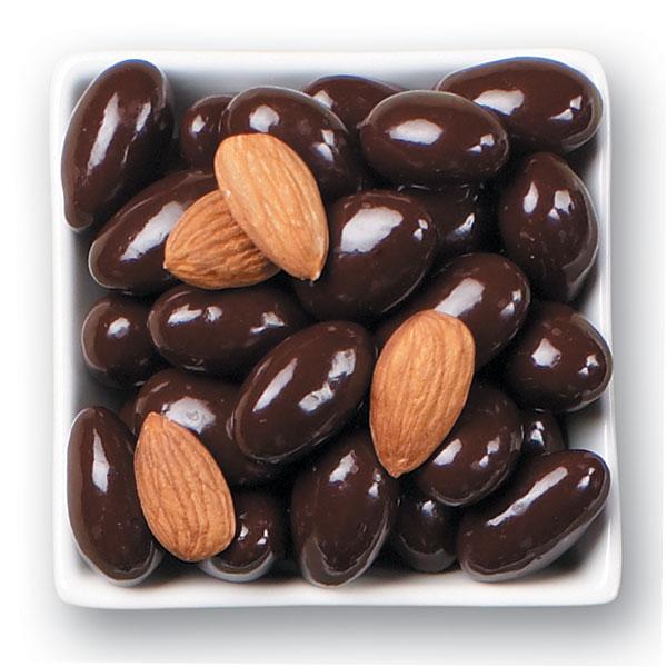 Dark Chocolate Whole California Almonds 1 LB