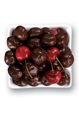 Dark Chocolate Whole Bing Cherries 1 LB