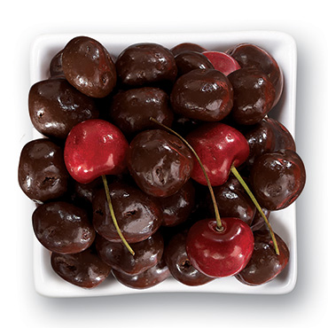 Dark Chocolate Whole Bing Cherries 1 LB