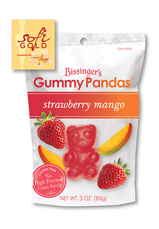 Strawberry Mango Gummy Pandas
