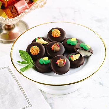 Hand-Decorated Thanksgiving Mints