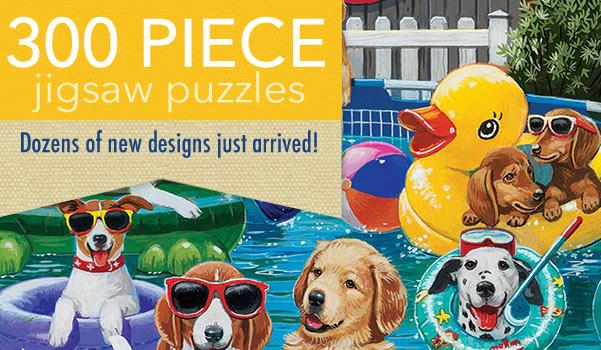 300 Piece Jigsaw Puzzles