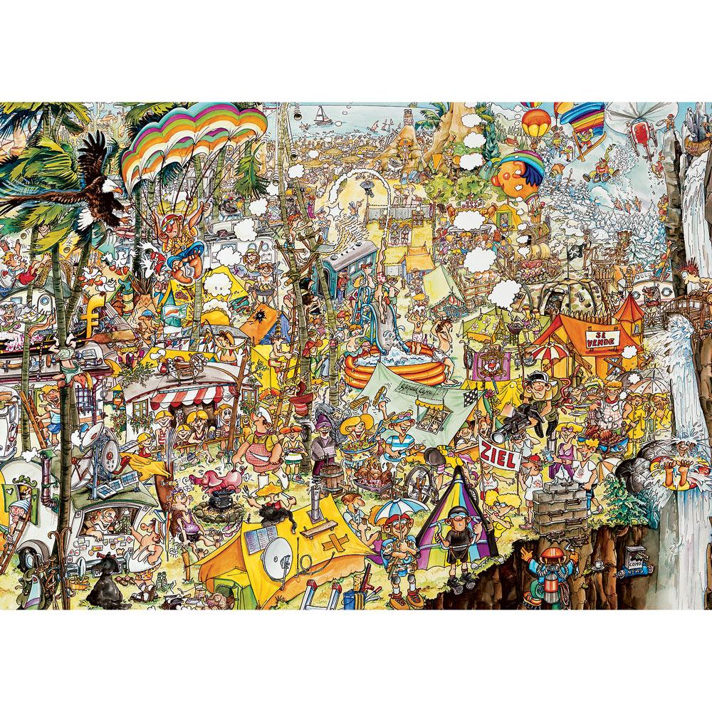 Crazy BBQ 3000 Piece Large Format Jigsaw Puzzle
