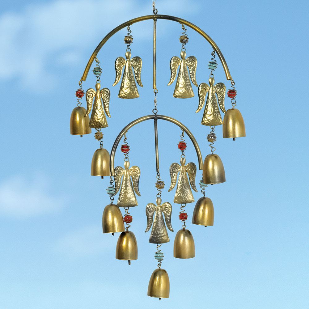 Heavenly Angel Bells Wind Chime Bits And Pieces