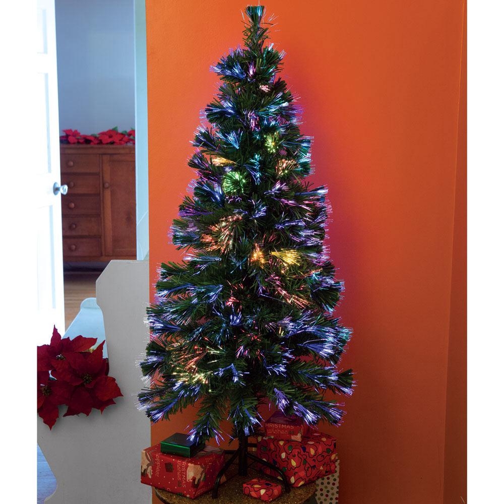 7 5 Fiber Optic Christmas Tree: 6 Ft. Fiber Optic Christmas Tree