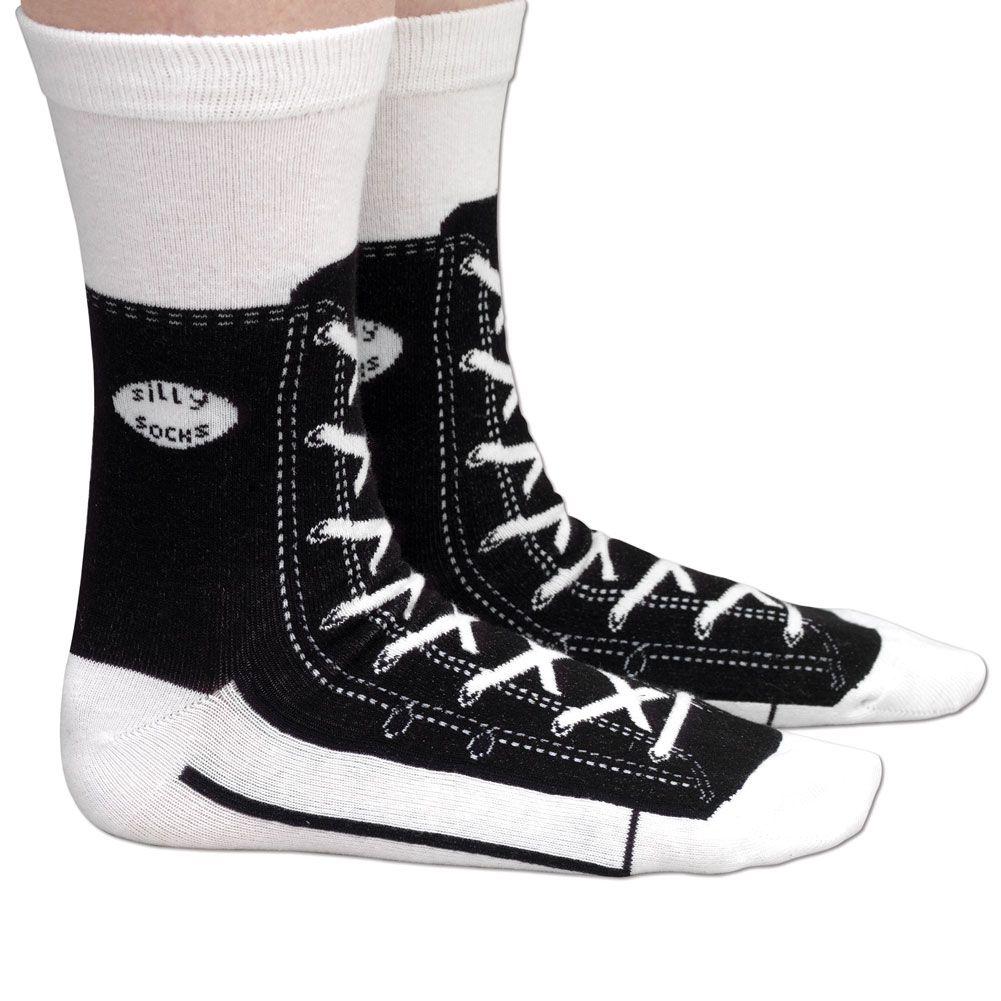 Buy Black Sneaker Socks | For adult