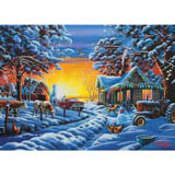 Country Christmas 300 Large Piece Jigsaw Puzzle