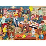 Little Cowboy's Sixth Roundup 300 Large Piece Jigsaw Puzzle