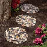 River Stone Stepping Stones