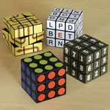 SET OF 4: BRAIN BUSTER CUBE