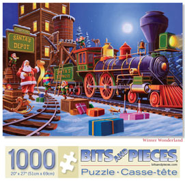 Winter Wonderland 1000 Piece Jigsaw Puzzle