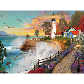 Lighthouse Park 500 Piece Jigsaw Puzzle